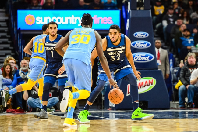 Minnesota Timberwolves vs. Los Angeles Lakers - 2/15/18 NBA Pick, Odds, and Prediction