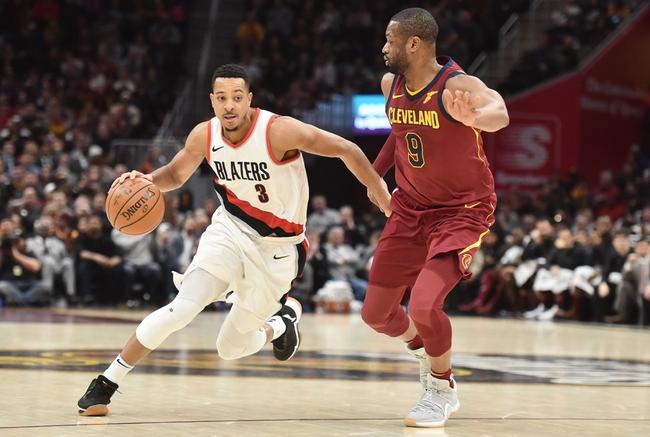 Portland Trail Blazers vs. Cleveland Cavaliers - 3/15/18 NBA Pick, Odds, and Prediction