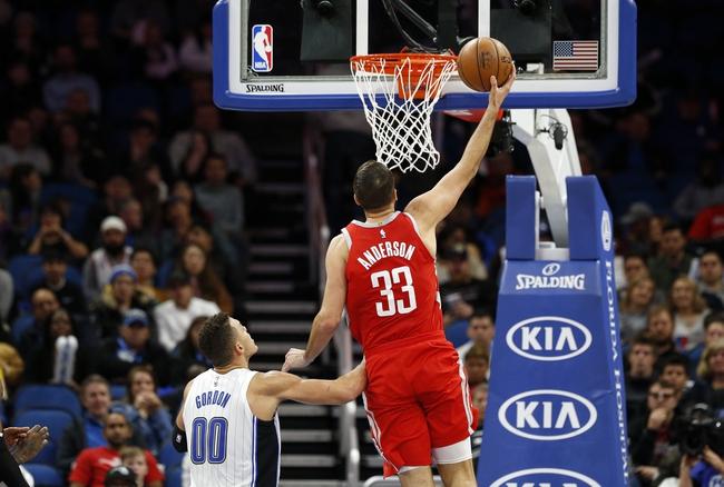 Houston Rockets vs. Orlando Magic - 1/30/18 NBA Pick, Odds, and Prediction