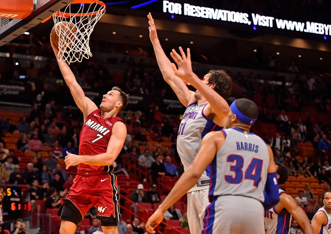 Detroit Pistons vs. Miami Heat - 2/3/18 NBA Pick, Odds, and Prediction
