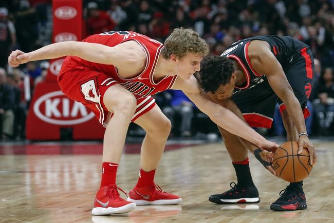 Chicago Bulls vs. Toronto Raptors - 2/14/18 NBA Pick, Odds, and Prediction