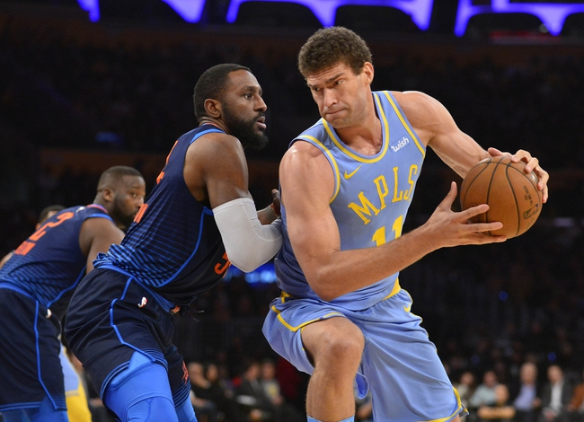 Oklahoma City Thunder vs. Los Angeles Lakers - 1/17/18 NBA Pick, Odds, and Prediction