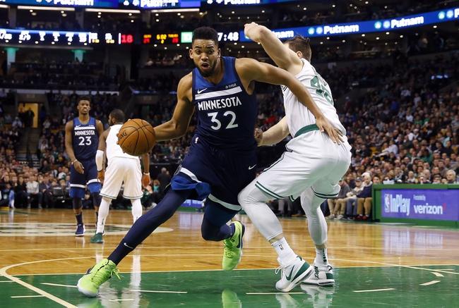 Minnesota Timberwolves vs. Boston Celtics - 3/8/18 NBA Pick, Odds, and Prediction