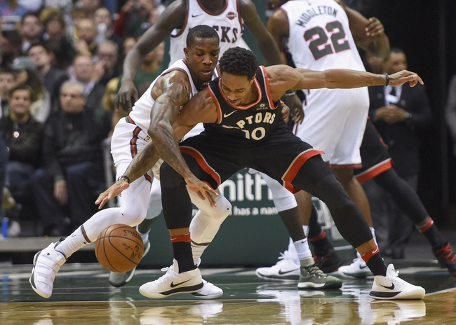 Toronto Raptors vs. Milwaukee Bucks - 2/23/18 NBA Pick, Odds, and Prediction