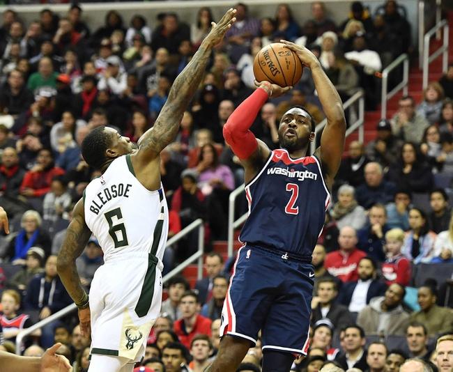 Washington Wizards vs. Milwaukee Bucks - 1/15/18 NBA Pick, Odds, and Prediction