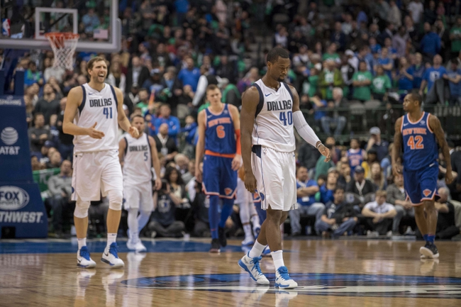 New York Knicks vs. Dallas Mavericks - 3/13/18 NBA Pick, Odds, and Prediction