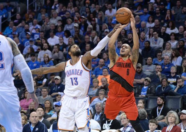 Portland Trail Blazers vs. Oklahoma City Thunder - 3/3/18 NBA Pick, Odds, and Prediction