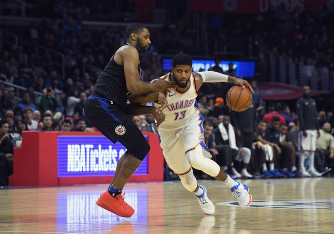 Oklahoma City Thunder vs. Los Angeles Clippers - 3/16/18 NBA Pick, Odds, and Prediction