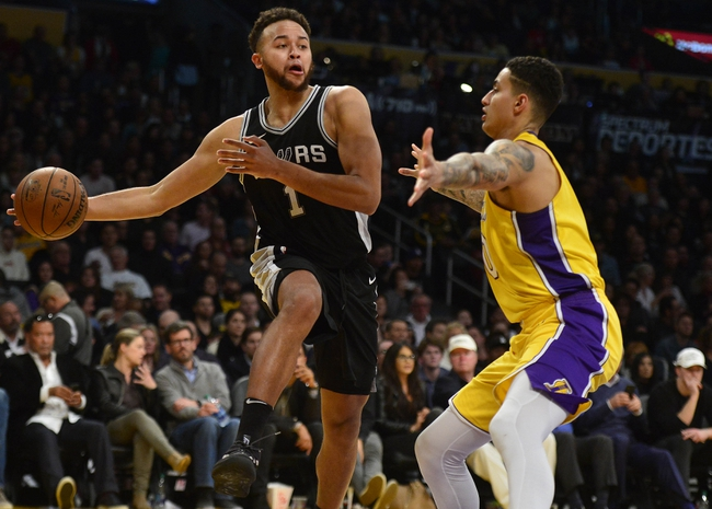 San Antonio Spurs vs. Los Angeles Lakers - 3/3/18 NBA Pick, Odds, and Prediction