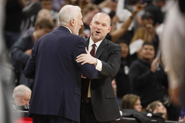 San Antonio Spurs vs. Denver Nuggets - 1/30/18 NBA Pick, Odds, and Prediction