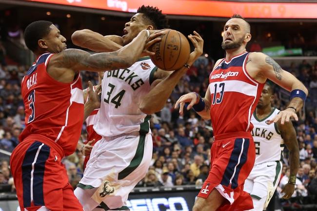 Milwaukee Bucks vs. Washington Wizards - 2/27/18 NBA Pick, Odds, and Prediction