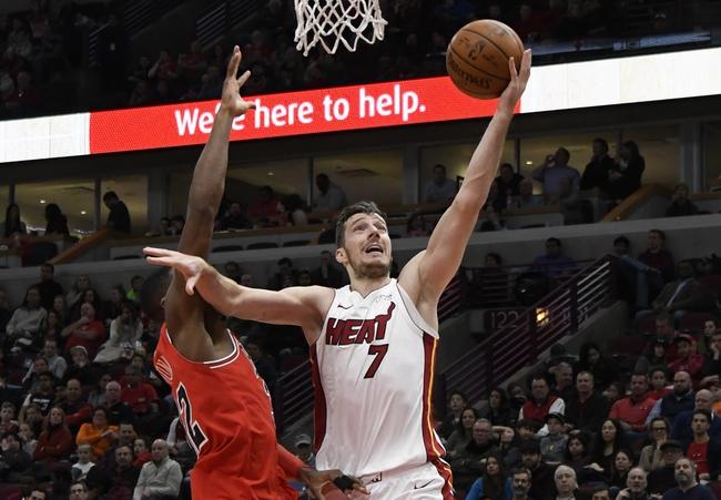 Miami Heat vs. Chicago Bulls - 3/29/18 NBA Pick, Odds, and Prediction
