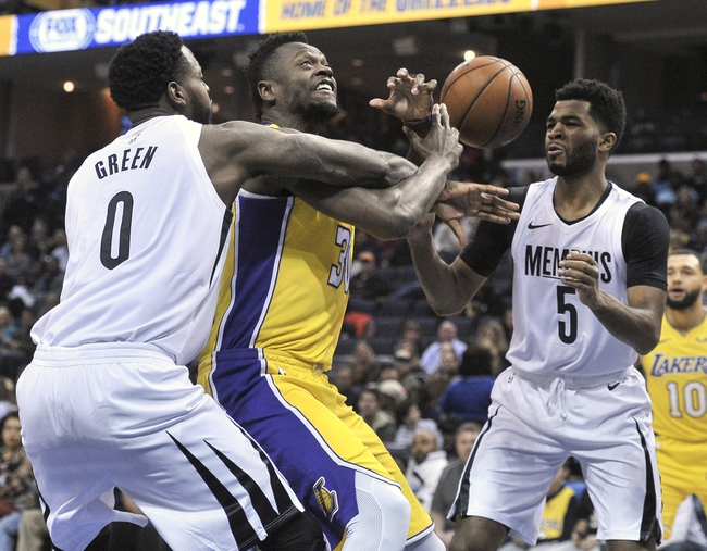 Memphis Grizzlies vs. Los Angeles Lakers - 3/24/18 NBA Pick, Odds, and Prediction
