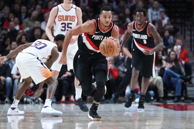 Phoenix Suns vs. Portland Trail Blazers - 2/24/18 NBA Pick, Odds, and Prediction