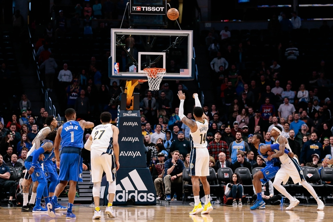 Denver Nuggets vs. Dallas Mavericks - 1/27/18 NBA Pick, Odds, and Prediction