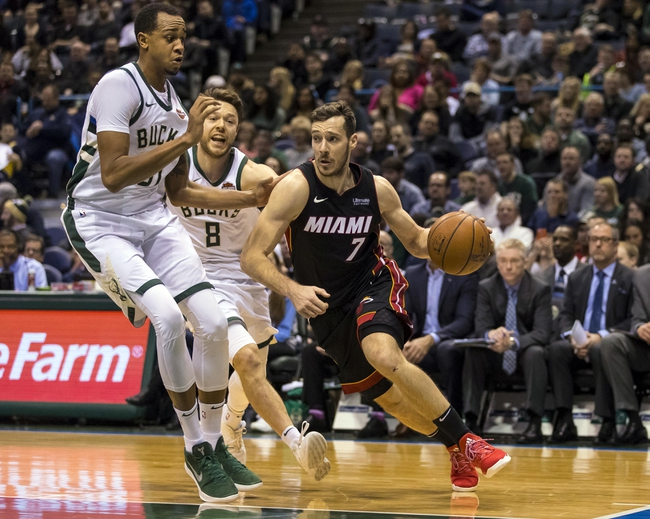 Miami Heat vs. Milwaukee Bucks - 2/9/18 NBA Pick, Odds ...