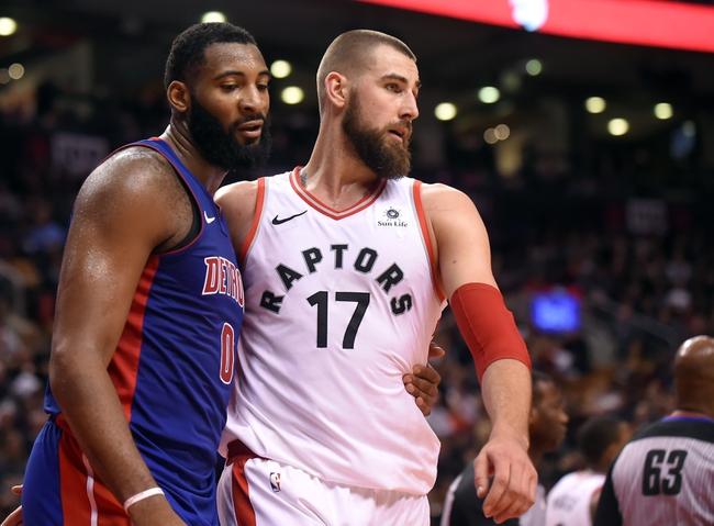 Toronto Raptors vs. Detroit Pistons - 2/26/18 NBA Pick, Odds, and Prediction