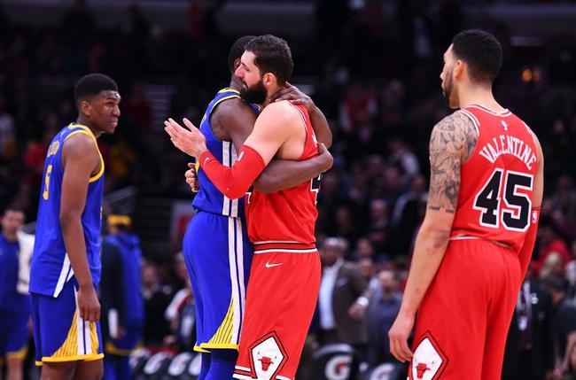 Chicago Bulls vs. Golden State Warriors - 10/29/18 NBA Pick, Odds, and Prediction