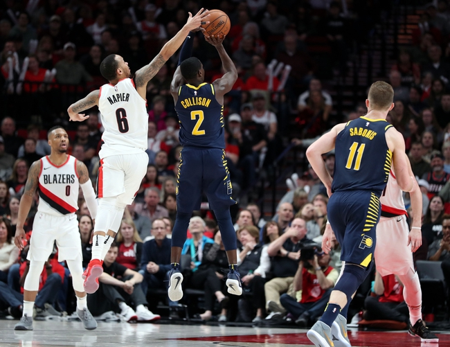 Indiana Pacers vs. Portland Trail Blazers - 10/29/18 NBA Pick, Odds, and Prediction