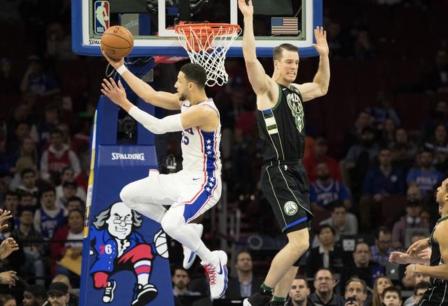 Milwaukee Bucks vs. Philadelphia 76ers - 1/29/18 NBA Pick, Odds, and Prediction