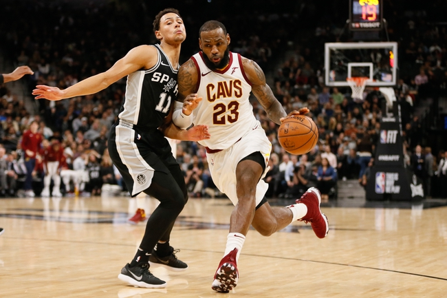 Cleveland Cavaliers vs. San Antonio Spurs - 2/25/18 NBA Pick, Odds, and Prediction