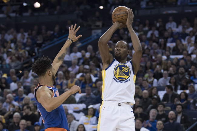 New York Knicks vs. Golden State Warriors - 2/26/18 NBA Pick, Odds, and Prediction