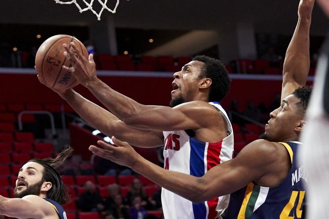 Utah Jazz vs. Detroit Pistons - 3/13/18 NBA Pick, Odds, and Prediction