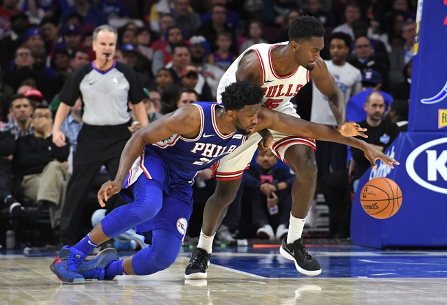 Chicago Bulls vs. Philadelphia 76ers - 2/22/18 NBA Pick, Odds, and Prediction
