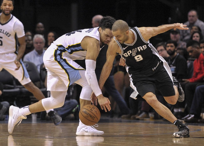 San Antonio Spurs vs. Memphis Grizzlies - 3/5/18 NBA Pick, Odds, and Prediction