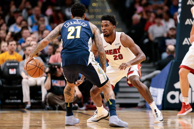 Miami Heat vs. Denver Nuggets - 3/19/18 NBA Pick, Odds, and Prediction