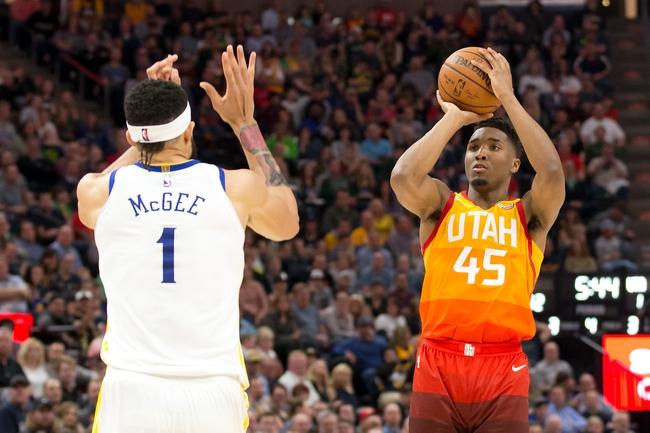 Golden State Warriors vs. Utah Jazz - 3/25/18 NBA Pick, Odds, and Prediction