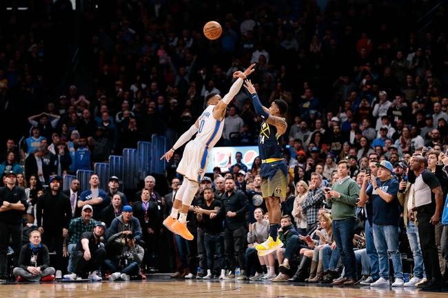 Oklahoma City Thunder vs. Denver Nuggets - 3/30/18 NBA Pick, Odds, and Prediction
