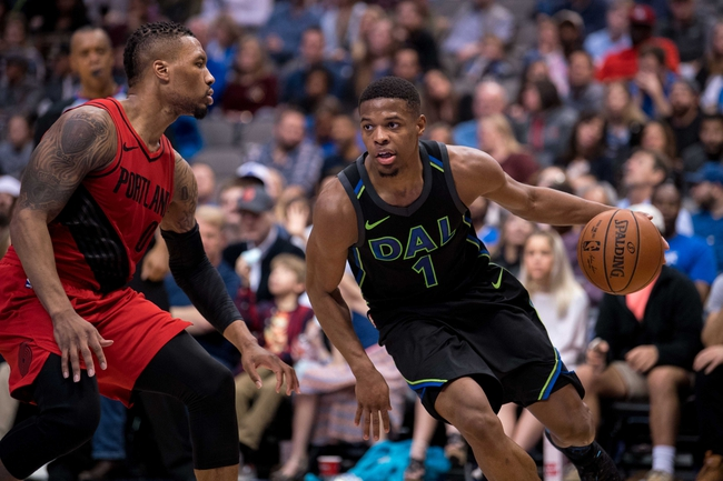 Dallas Mavericks vs. Portland Trail Blazers - 4/3/18 NBA Pick, Odds, and Prediction