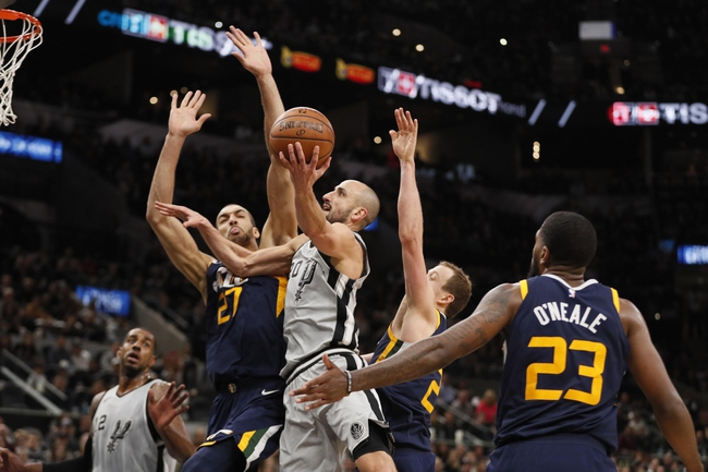 Utah Jazz vs. San Antonio Spurs - 2/12/18 NBA Pick, Odds, and Prediction