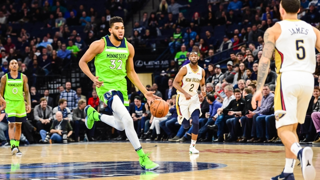 Minnesota Timberwolves vs. New Orleans Pelicans - 11/14/18 NBA Pick, Odds, and Prediction