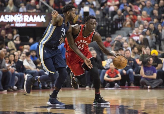 Memphis Grizzlies vs. Toronto Raptors - 11/27/18 NBA Pick, Odds, and Prediction