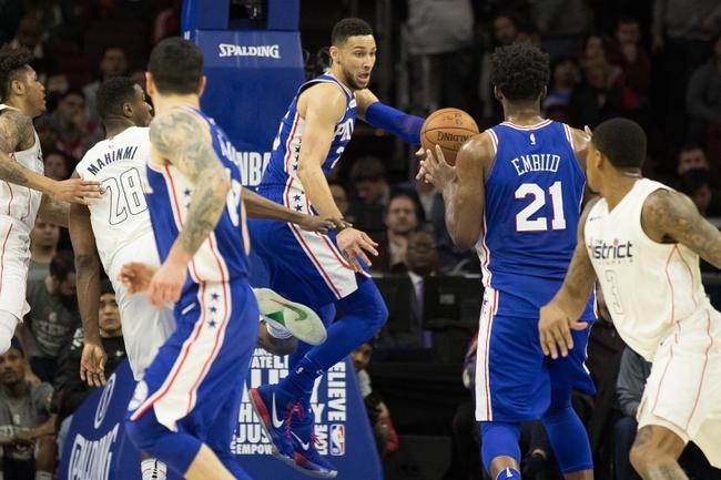 Washington Wizards vs. Philadelphia 76ers - 2/25/18 NBA Pick, Odds, and Prediction