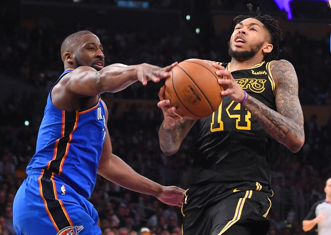 Los Angeles Lakers vs. Oklahoma City Thunder - 1/2/19 NBA Pick, Odds, and Prediction