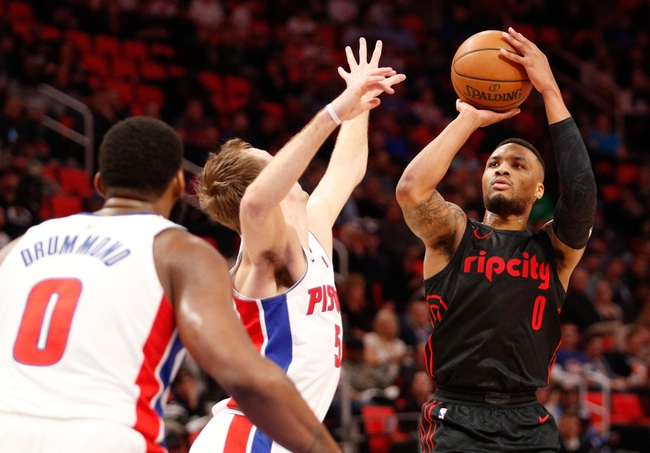 Portland Trail Blazers vs. Detroit Pistons - 3/17/18 NBA Pick, Odds, and Prediction