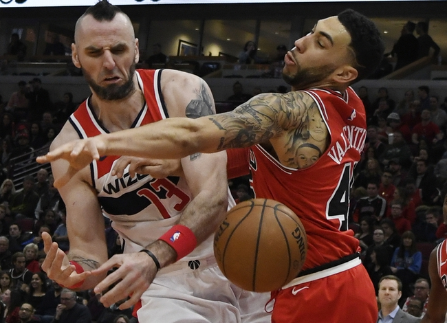 Chicago Bulls vs. Washington Wizards - 4/1/18 NBA Pick, Odds, and Prediction