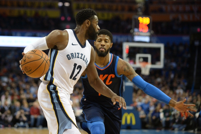 Memphis Grizzlies vs. Oklahoma City Thunder - 2/14/18 NBA Pick, Odds, and Prediction