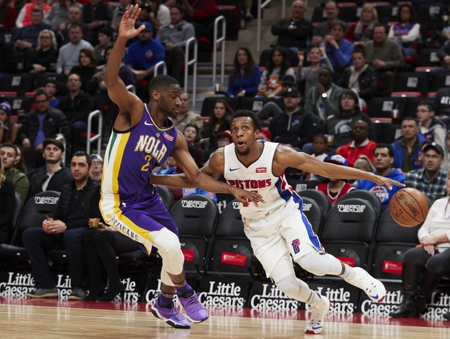 Detroit Pistons vs. New Orleans Pelicans - 12/9/18 NBA Pick, Odds, and Prediction