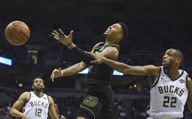 Milwaukee Bucks vs. Atlanta Hawks - 3/17/18 NBA Pick, Odds, and Prediction