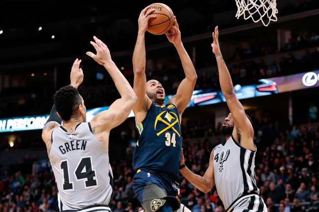 Denver Nuggets vs. San Antonio Spurs - 2/23/18 NBA Pick, Odds, and Prediction