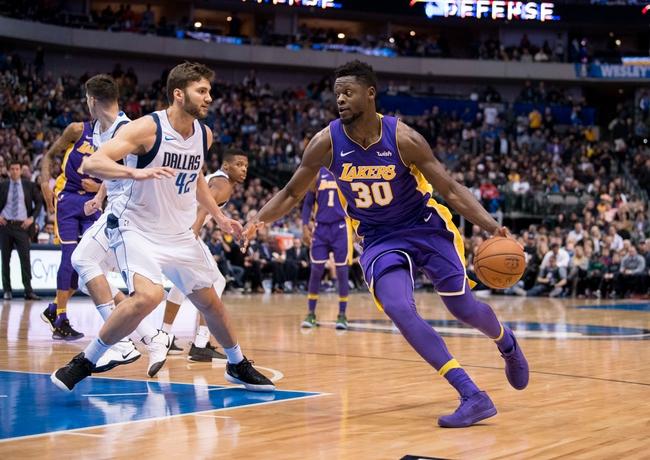 Los Angeles Lakers vs. Dallas Mavericks - 2/23/18 NBA Pick, Odds, and Prediction