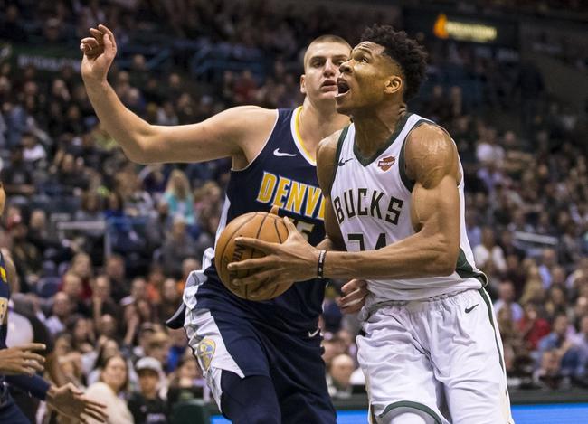 Denver Nuggets vs. Milwaukee Bucks - 4/1/18 NBA Pick, Odds, and Prediction