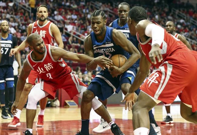 Minnesota Timberwolves vs. Houston Rockets - 3/18/18 NBA Pick, Odds, and Prediction