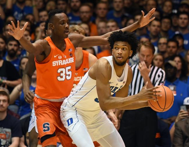 Duke vs. Syracuse - 3/23/18 College Basketball Pick, Odds, and Prediction