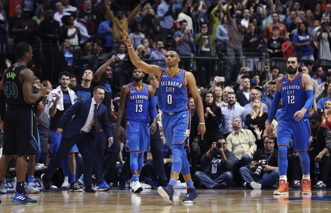 Dallas Mavericks vs. Oklahoma City Thunder - 11/10/18 NBA Pick, Odds, and Prediction
