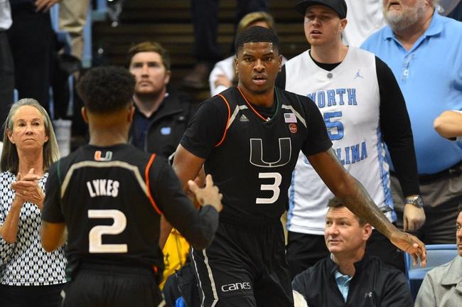 Miami vs. Florida Atlantic - 12/22/18 College Basketball Pick, Odds, and Prediction